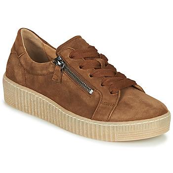 Skor Dam Sneakers Gabor 5333412 Kamel