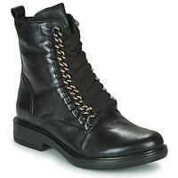 Skor Dam Boots Mjus CAFE CHAIN Svart
