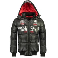 textil Pojkar Täckjackor Geographical Norway AVALANCHE BOY Svart
