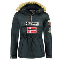 textil Pojkar Parkas Geographical Norway BARMAN BOY Marin