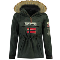 textil Pojkar Parkas Geographical Norway BARMAN BOY Grå