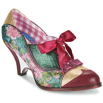 Skor Dam Pumps Irregular Choice FORCE OF BEAUTY Bordeaux / Grön