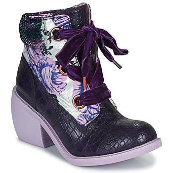 Skor Dam Boots Irregular Choice SCARPER Violett