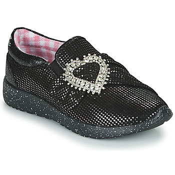 Skor Dam Sneakers Irregular Choice TWO SHAKES Svart