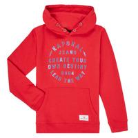 textil Pojkar Sweatshirts Kaporal OCTAV Röd