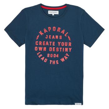 textil Pojkar T-shirts Kaporal ORVAL Marin