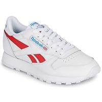 Skor Sneakers Reebok Classic CL LTHR Vit / Röd