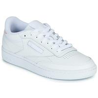 Skor Dam Sneakers Reebok Classic CLUB C 85 Vit / Regnbågsfärgat
