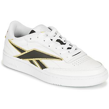 Skor Sneakers Reebok Classic CLUB C 85 Vit / Svart