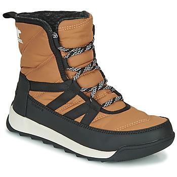 Skor Dam Boots Sorel WHITNEY II SHORT LACE Brun