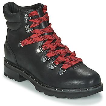 Skor Dam Boots Sorel LENNOX HIKER Svart