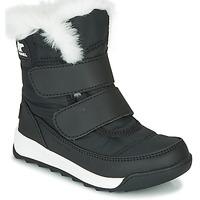 Skor Barn Boots Sorel CHILDRENS WHITNEY II STRAP Svart