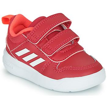 Skor Flickor Sneakers adidas Performance TENSAUR I Rosa / Vit