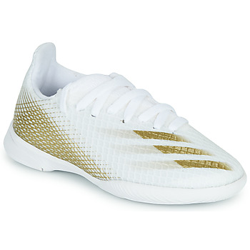 Skor Barn Fotbollsskor adidas Performance X GHOSTED.3 IN J Vit