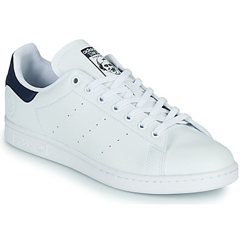 Skor Sneakers adidas Originals STAN SMITH VEGAN Vit / Blå