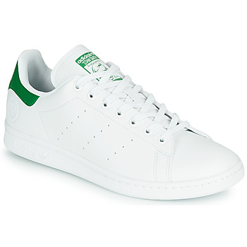 Skor Sneakers adidas Originals STAN SMITH VEGAN Vit / Grön