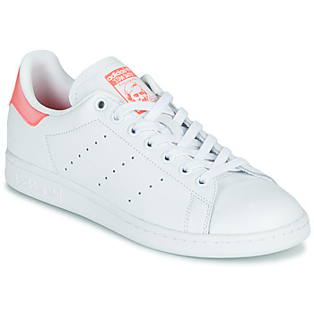 Skor Dam Sneakers adidas Originals STAN SMITH W Vit / Rosa