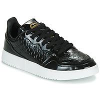 Skor Dam Sneakers adidas Originals SUPERCOURT W Svart / Lack