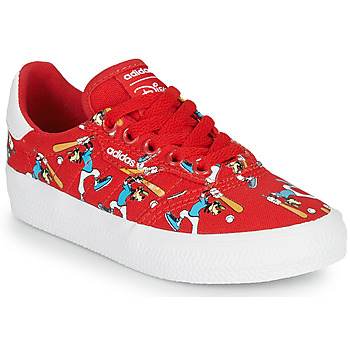 Skor Barn Sneakers adidas Originals 3MC C X DISNEY SPORT Röd