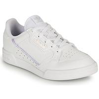 Skor Flickor Sneakers adidas Originals CONTINENTAL 80 C Vit / Regnbågsfärgat