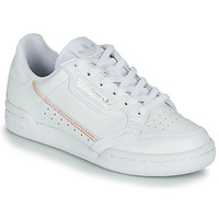Skor Flickor Sneakers adidas Originals CONTINENTAL 80 J Vit / Regnbågsfärgat