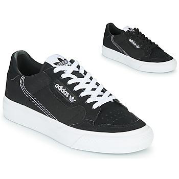 Skor Barn Sneakers adidas Originals CONTINENTAL VULC J Svart
