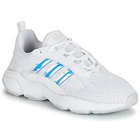 Skor Flickor Sneakers adidas Originals HAIWEE J Vit / Regnbågsfärgat