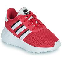 Skor Flickor Sneakers adidas Originals LA TRAINER LITE EL Rosa
