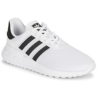 Skor Barn Sneakers adidas Originals LA TRAINER LITE J Vit / Svart