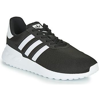Skor Barn Sneakers adidas Originals LA TRAINER LITE J Svart / Vit