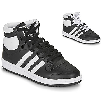 Skor Barn Höga sneakers adidas Originals TOP TEN J Svart / Vit