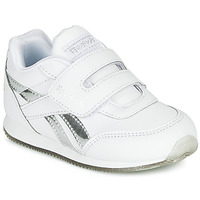 Skor Flickor Sneakers Reebok Classic REEBOK ROYAL CLJOG Vit / Silverfärgad