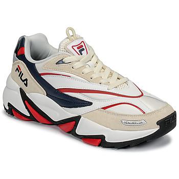 Skor Herr Sneakers Fila RUSH Vit / Beige / Röd