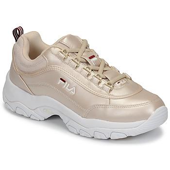 Skor Dam Sneakers Fila STRADA F WMN Guldfärgad