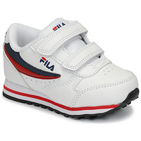 Skor Barn Sneakers Fila ORBIT VELCRO INFANTS Vit / Blå