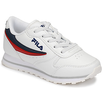 Skor Barn Sneakers Fila ORBIT LOW KIDS Vit / Blå