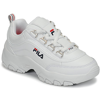 Skor Flickor Sneakers Fila STRADA LOW KIDS Vit
