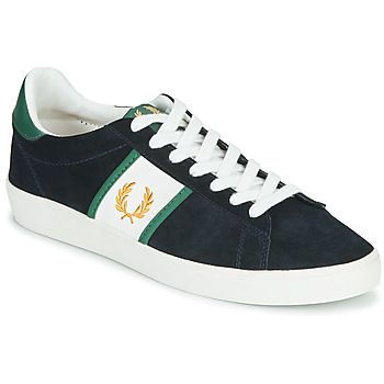 Skor Herr Sneakers Fred Perry SPENCER SUEDE / TIPPING Blå
