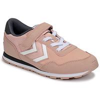 Skor Flickor Sneakers Hummel REFLEX JR Rosa