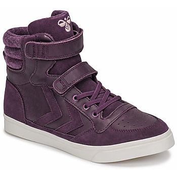Skor Flickor Höga sneakers Hummel STADIL WINTER JR Violett