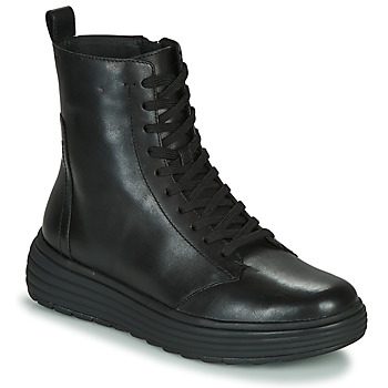 Skor Dam Boots Geox PHAOLAE Svart