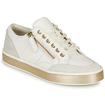 Skor Dam Sneakers Geox LEELU Vit