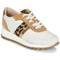 Skor Dam Sneakers Geox TABELYA Vit / Leopard
