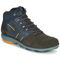 Skor Herr Boots Geox NEBULA 4 X 4 B ABX Marin / Brun
