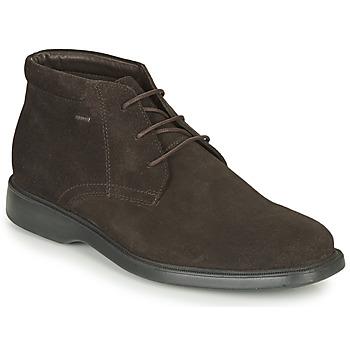 Skor Herr Boots Geox BRAYDEN 2FIT ABX Brun