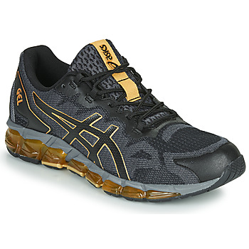 Skor Herr Sneakers Asics GEL-QUANTUM 360 6 Svart / Guldfärgad