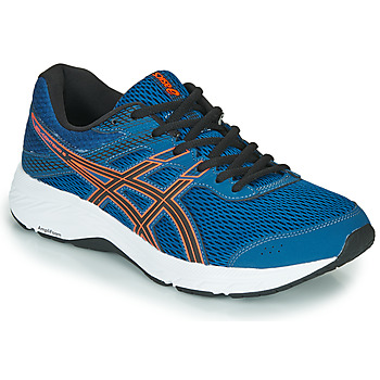 Skor Herr Löparskor Asics GEL-CONTEND 6 Blå / Orange