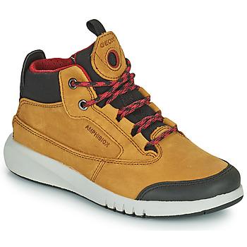 Skor Pojkar Boots Geox AERANTER ABX Kamel