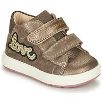 Skor Flickor Boots Geox BIGLIA Brun