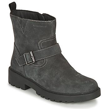 Skor Flickor Boots Geox CASEY WPF Grå